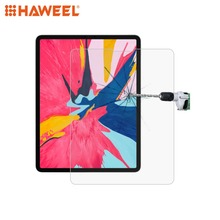HAWEEL 0.26mm 9H Surface Hardness Straight Edge 2.5D Explosion-proof Tempered Glass Film for iPad Pro 11 & iPad Pro 12.9 inch цена