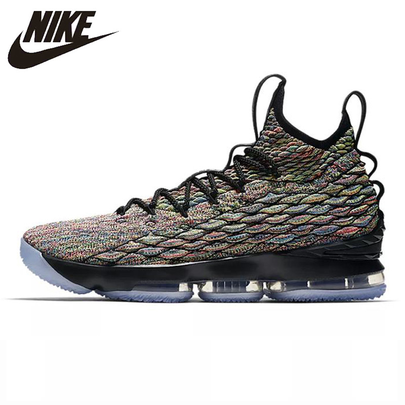brand new c6b5d 850bf US $90.3 30% OFF|Nike Lebron 15 Four Horsemen Men's High Top Basketball  Shoes AO1754 901 40.5 45-in Basketball Shoes from Sports & Entertainment on  ...