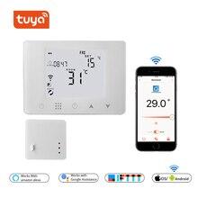 Беспроводной комнатный термостат Wi-Fi и RF для газового котла с подогревом или водяного пола с дистанционным управлением, контроль температуры