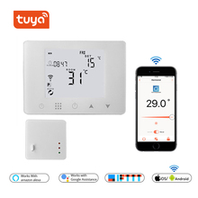 WiFi y inalámbrico RF termostato para la caldera de Gas de calefacción o agua de calefacción de suelo remoto control de temperatura controlador