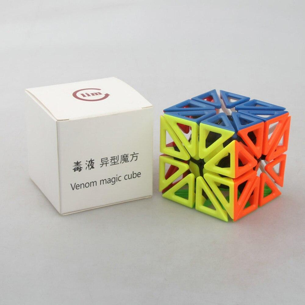 Fangshi Lim venin Alien Cube magique Puzzle jouet pour l'entraînement cérébral