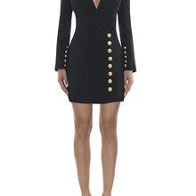 Женское платье оптом черное белое с v-образным вырезом с пуговицами куртка платье par платье+ костюм