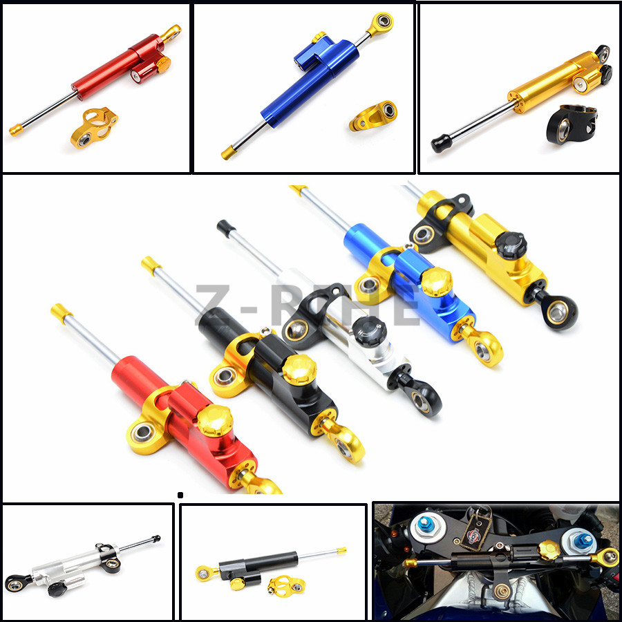 For Motorcycle Accessories Damper Stabilizer Damper Steering Reversed Safety Control For Kawasaki NINJA 250 300 650 ZX6R Z1000SX