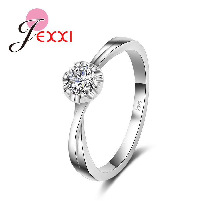 Engagement Rings Sale Price: Hot Sale Factory Price For Woman Crystal Rings Weddings