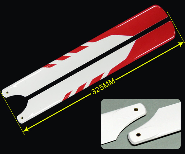 450 Main Blades 325mm glass fiber for Trex 450 RC Helicopter цена 2017