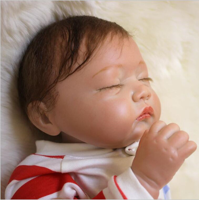 Cute Silicone Reborn Baby Dolls with Clothes 20''/ 50cm,Lifelike Newborn Baby-Reborn Doll Plaything for Children Free Shipping указатель ветра малый duckdog увм 10365 387 800х250мм