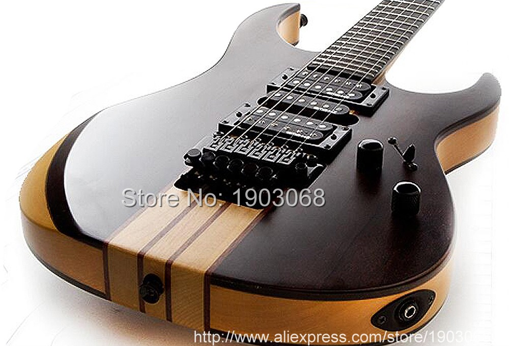 best quality chinese custom 6 strings neck thru electric guitar with floyed rose gold hardware. Black Bedroom Furniture Sets. Home Design Ideas