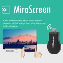 Новый Mirascreen Airplay DLNA Wi-Fi Display Miracast ТВ Dongle HDMI Приемник Мини Android Multi-display TV Stick 1080 Полный HD