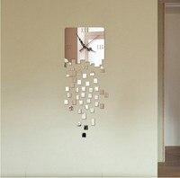 Individual artistic clock Wall stickers Fashion originality wall clock