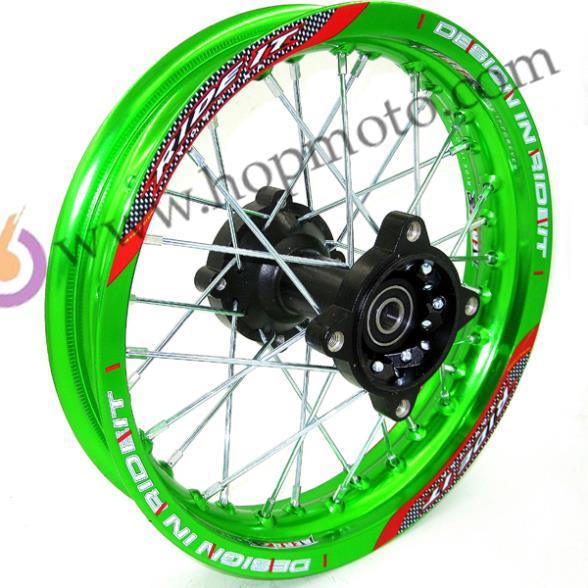 Çirkli velosiped çuxurlu velosiped üçün Yaşıl RMS 1.85x12 - Motosiklet aksesuarları və ehtiyat hissələri - Fotoqrafiya 2