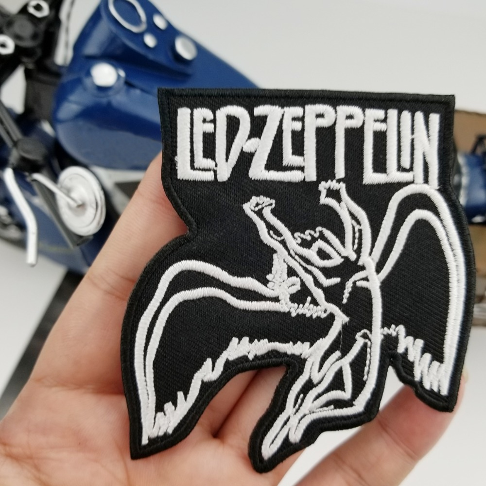 Mc1931 Brand High Quality Uk Led Zeppelin Embroidery Patch Songs
