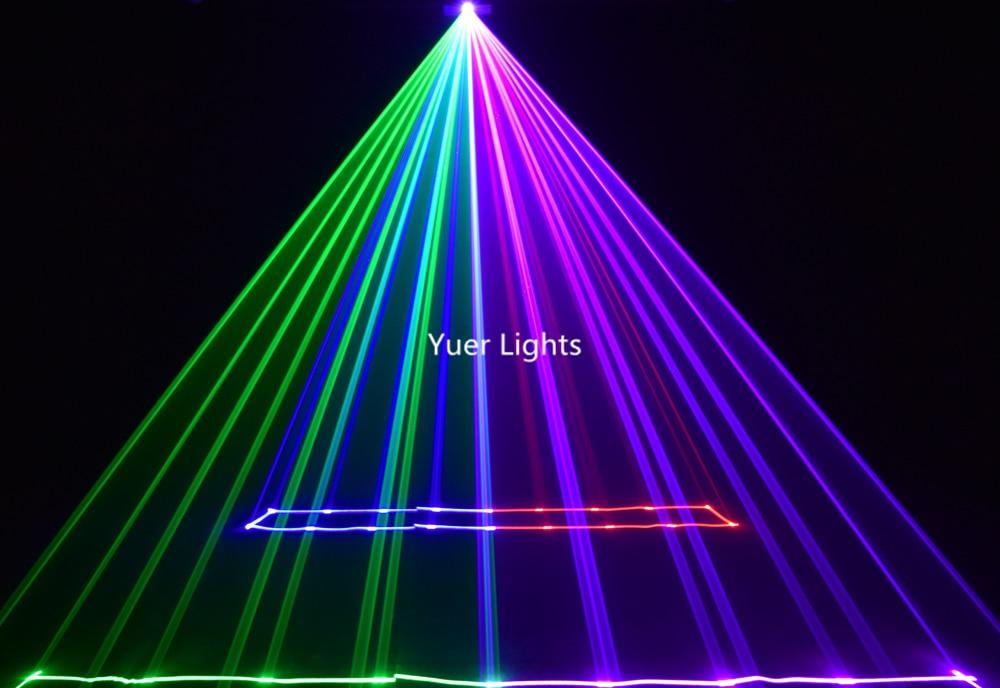 2 pçslote 1W RGB Laser Luz Xmas