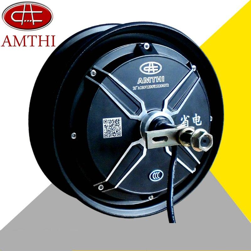 48 V/60 V/72 V 1000 W pouces pneus brushless DC hub moteur électrique de voiture, DIY Accessoires moteur