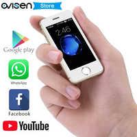 最小のスマート電話メルローズ S9P S9X S9 プラス超薄型ミニ携帯電話 MT6580 クアッドコア 1 ギガバイト 8 ギガバイトロック解除携帯電話 PK 2019