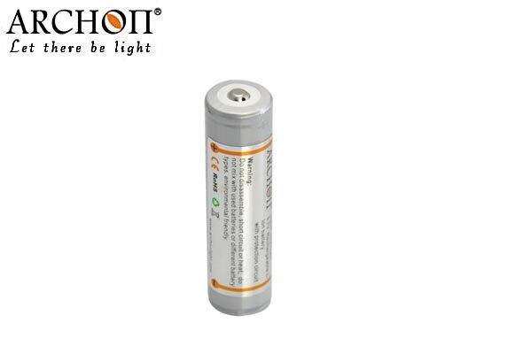 ARCHON 18650 3.7V 2600mAh Li-on Rechargeable Battery For Archon V10S D10U D10S D10XL Torch