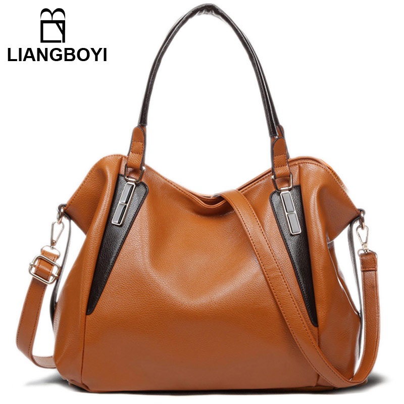 LIANGBOYI Tote Bags Handbags Women Famous Brands Designer Obag Shoulder Crossbody Bags Female High Quality PU Leather Desigues luxury handbags women bags designer 2017 famous brands high quality pu leather tote bags female shoulder bags ladies sac a main