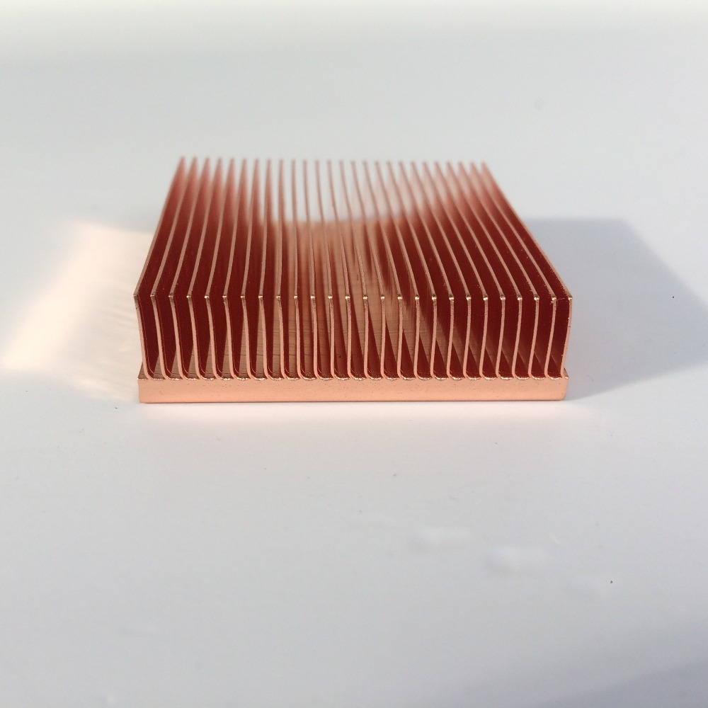 Image 4 - 1pc copper heatsink 40*40*11mm for Chip VGA RAM LED IC radiator COOLER cooling-in Fans & Cooling from Computer & Office