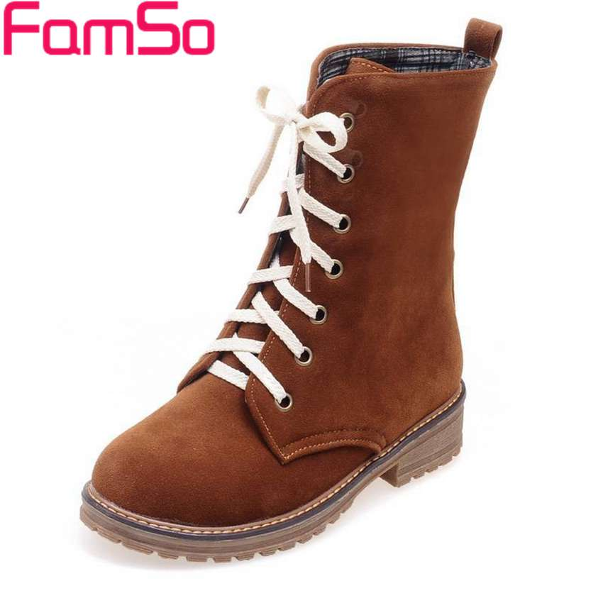 Free shipping 2015 New font b Women b font Martin Boots Lady Outdoor Dress Work Boots