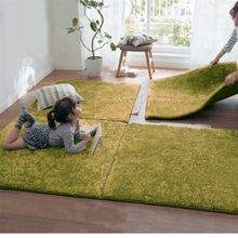 New Long Hair Memory Foam Area Rugs Children Kids Play Mat Soft Patchwork Carpet Magic Jigsaw Splice Puzzle Climbing Baby Rugs(China)