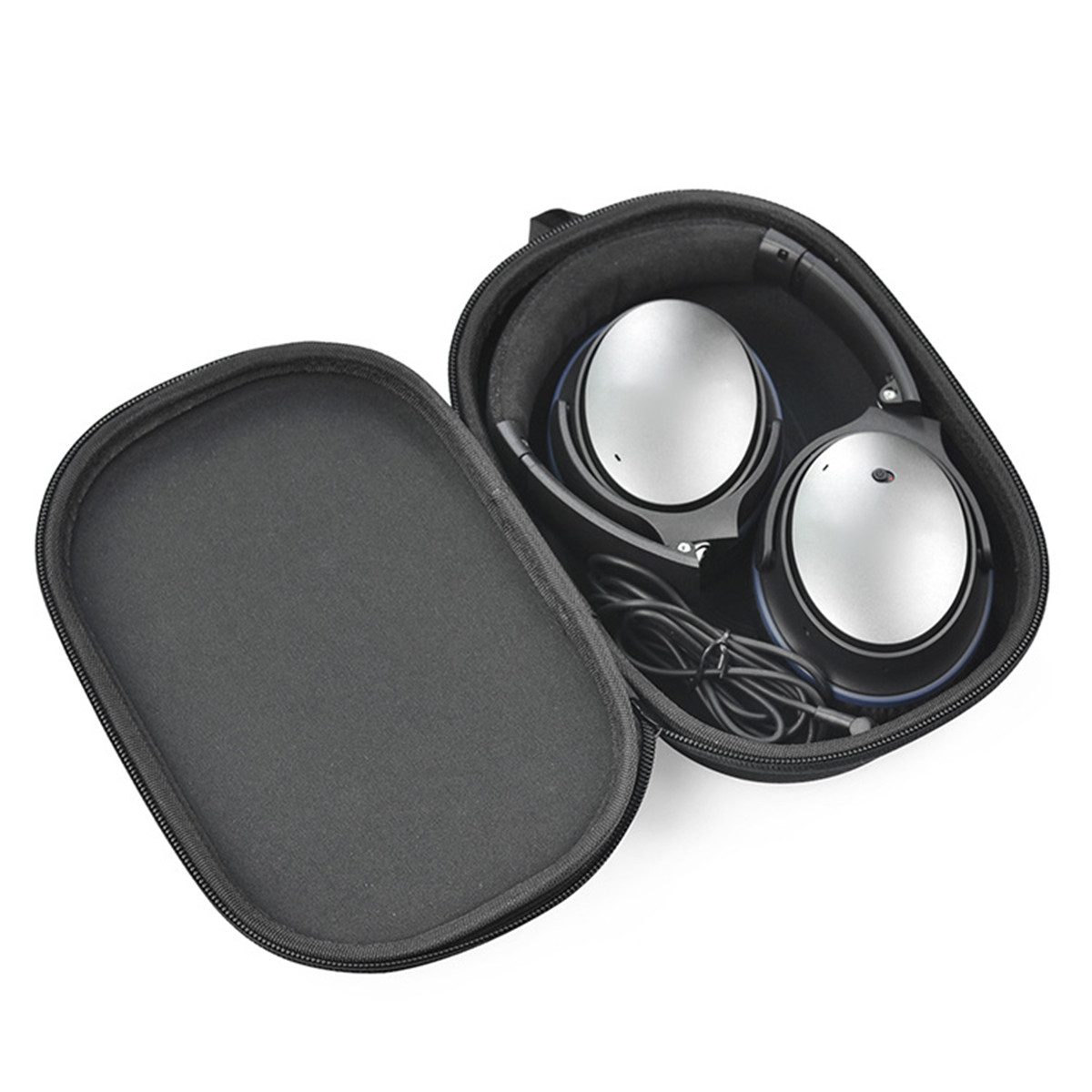 1e8d045aa43 Waterproof Dustproof EVA Portable Storage Box Carry Shell Case Bag For Bose  QC15 QC25 QC35 Headphone Convenient Black Protect-in Earphone Accessories  from ...