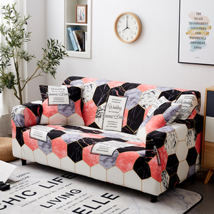 Image 5 - Parkshin Fashion Geometric Slipcovers Sofa Cover All inclusive Sectional Elastic Full Couch Cover Sofa Towel 1/2/3/4 Seater