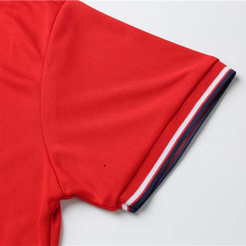 Nam Mùa Hè Áo Thun Polo Cotton Nữ Tay Ngắn Thoáng Khí Chống Pilling Mới 2019 Nguyên Khối Thương Hiệu Polo Áo Tee Hombre Plus kích thước S-3XL