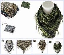 Shemagh Military Scarf Islamic Airsoft Muslim Multifunction Tactical Arabic Keffiyeh Man Wrap Bandana Hijab Palestine Sq303-2