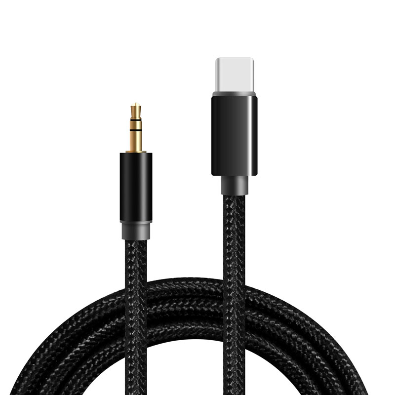 usb type c audio cable male jack female car speaker aux cable type c headphone earphone. Black Bedroom Furniture Sets. Home Design Ideas