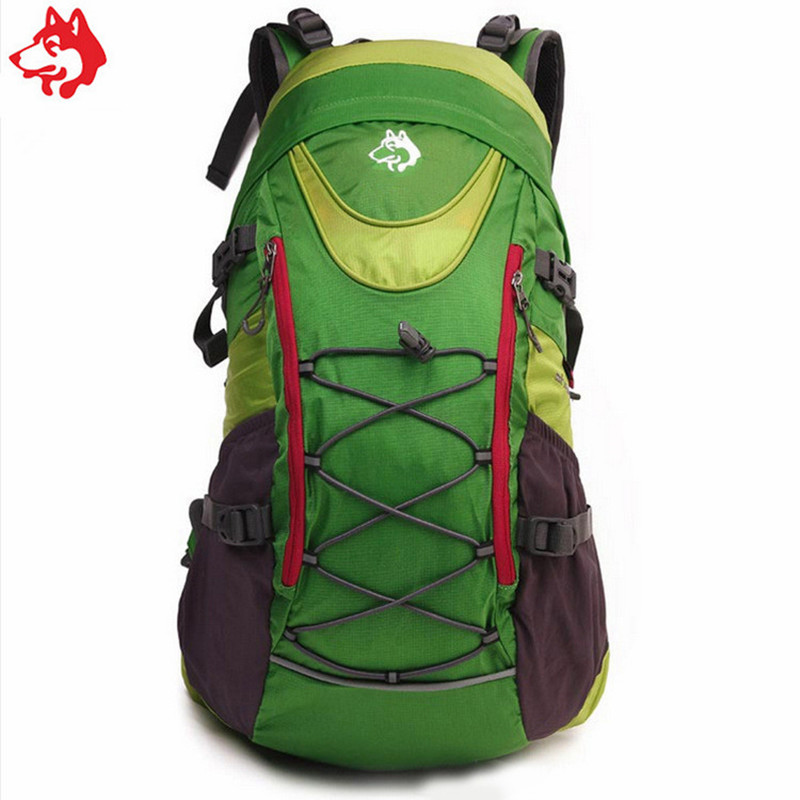 35L Blue/Green/Red Style outdoor sporting Hiking Grade camping bag popular student mountaineering Backpack ...