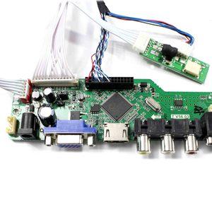 Image 4 - LTN097XL01 A02 HDMI VGA AV USB RF وحدة تحكم بشاشة إل سي دي مجلس LP097X02 SLNV 1024x768 قرار LP097X02 SLA8 ل 9.7 بوصة شاشة Lcd