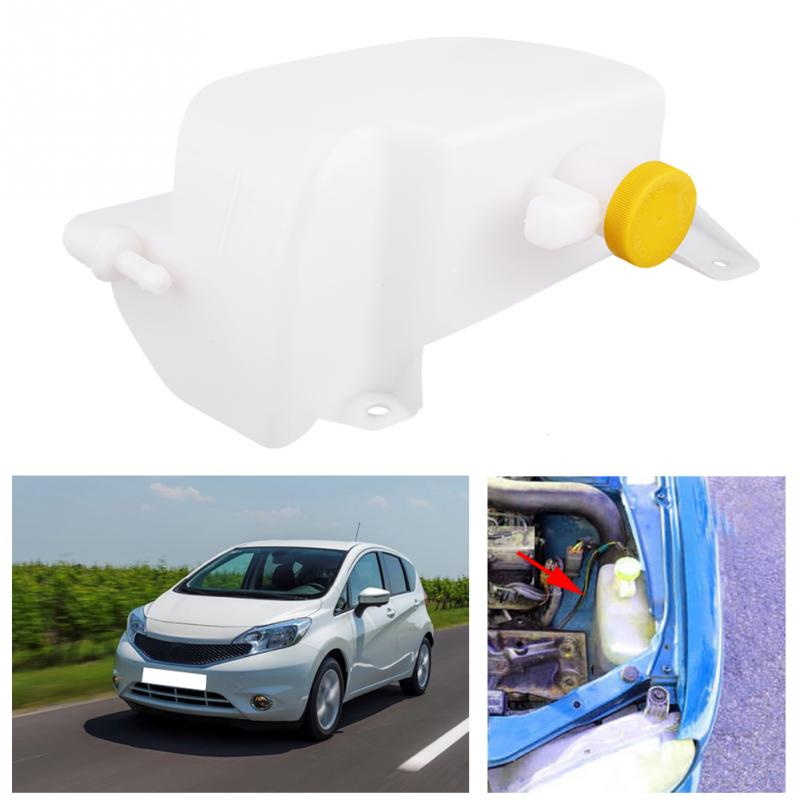 Car Coolant Recovery Tank Expansion Bottle Reservoir W/ Cap for Nissan Micra 1992-2002 21710-43B01 coolant expansion tank cap water level sensor for opel calibra a vectra a cc land rover 90228348