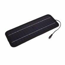 Высокое качество 12 В 4.5 Вт Панели солнечные Bank Солнечное Мощность Панель Батарея Зарядное устройство Зарядка Клип для автомобиля мотоцикла лодка