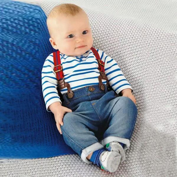 2Pcs Enfants Bébé Garçons Casual T-shirt en coton longues pantalon bébé vêtements Set tenues