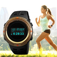 SKMEI Brand Mens Sports Watches Pedometer Calories Leisure Multifunctional Digital Altimeter Compass Thermometer Lovers Watches
