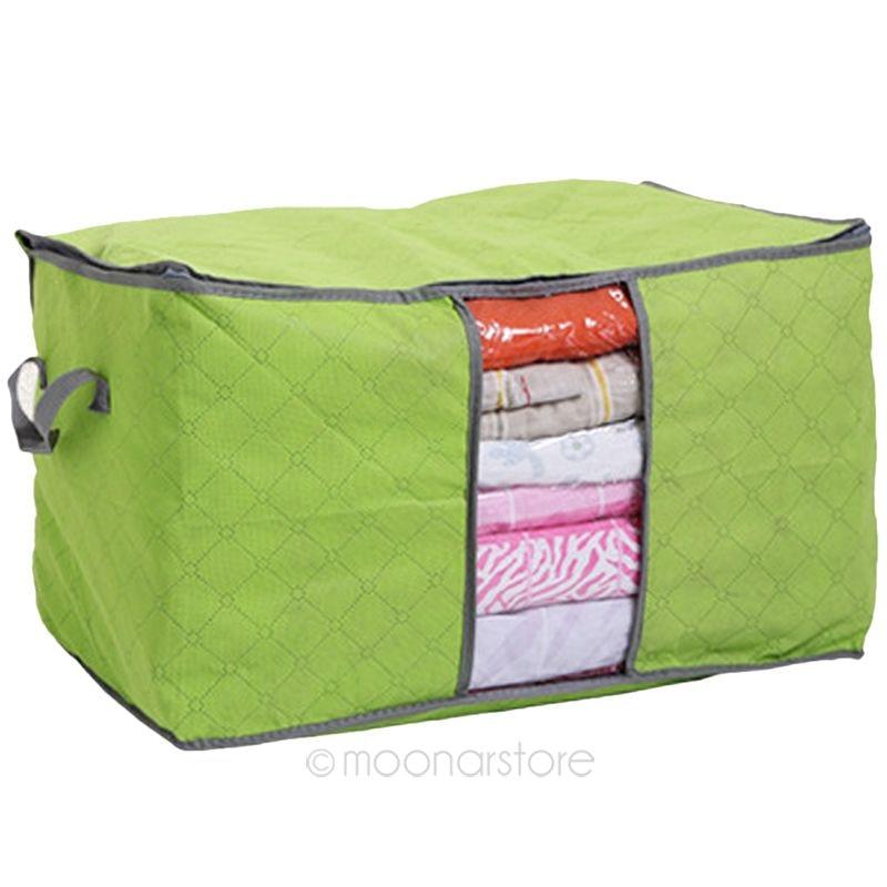 New Non Woven Fabric Folding Underwear Storage Box Bedroom: Amazing 3 Colors Foldable Clothing Organizer Clothing