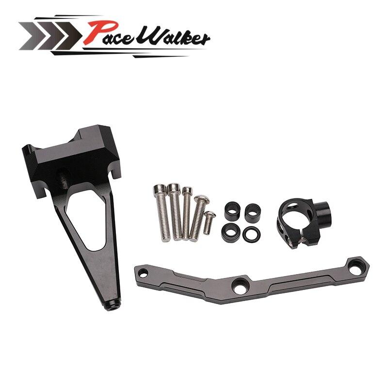 CNC Aluminium Steering Stabilizer Damper  motorcycle Steering  Mounting Bracket  For Yamaha MT-09 FZ-09 MT09 2013 2014 2015 2016 motorcycle cnc steering damper mounting bracket for yamaha mt 09 mt09 fz 09 fz09 2013 2014 2015
