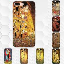The Kiss By Gustav Klimt Luxury Tpu Rubber Phone Case Cover For Xiaomi Redmi Note 2 3 4 4A 4X 5 5A 6 6A Plus Pro S2 Y2(China)