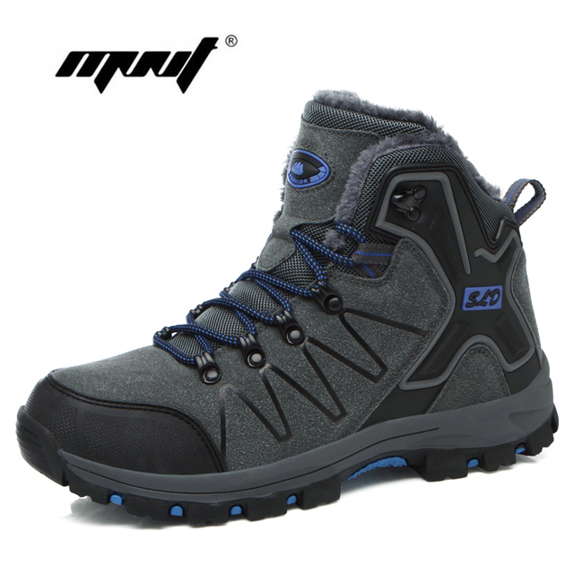 Herbst Winter Mode Männer Stiefel Vintage Stil Männer Schuhe Hohe Qualität Lace-Up Warm Plüsch Liebhaber Schuhe Schnee Stiefel