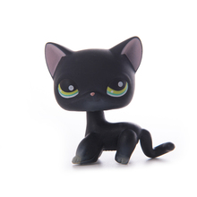 Lps cat Pet Shop Toys  Lps old collection Short Hair Cat Action Standing Figure Cosplay Toys Children Best Gift цена 2017
