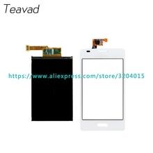 Дешевые Запасная часть 4.5 »для LG Optimus L5 E610 E612 ЖК-дисплей Экран дисплея и Сенсорный экран планшета Сенсор + код отслеживания