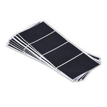 Виниловая Классная доска наклейка этикетка для кухонных канистр милые настенные наклейки прямоугольники набор из 24 штук B11