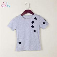 Hot Sale New Children Star T Shirts Fit Girls Boys Kids Short Sleeve Tee Cotton Baby