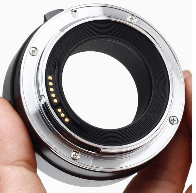 EF 25 anneau de Tube d'extension EF Macro à montage automatique en métal pour Canon 80D 70D 60D 50D 760D 750D 700D adaptateur d'objectif d'appareil photo reflex numérique