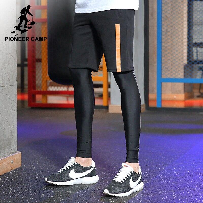 Пионерский лагерь новый бермуды Шорты брендовая мужская одежда простые черные летние шорты Мужской Качество Мода повседневные шорты adk702156