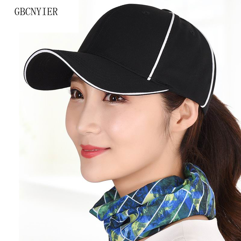 GBCNYIER Female Fashion Summer Baseball Cap Cool Cute Women Sun Hat Bone  Brim Cool Lady Adjustable Visor Cotton Casual Sport -in Baseball Caps from  Apparel ... 8dca45140b81