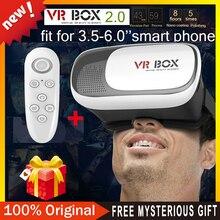 """CAJA de 3.0 PRO 2.0 Versión Google Cartón VR VR Virtual Gafas 3D para 3.5 """"-6.0"""" Smart Phone + Bluetooth Mando a distancia"""