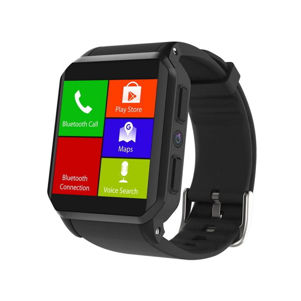 KW06 Smart Watch 1.54 Inch MTK6580 Quad Core Android 5.1 3G Smart Watch 0.3 Mega Pixel Heart Rate Monitor IP 68 Waterproof goldenspike i3 smart watch 1 5 inch mtk6580 quad core 1 3ghz android 5 1 3g smart watch 500mah 2 0 mega pixel heart rate monitor