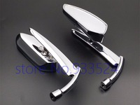 Custom Rear View Mirrors For Harley Sportster 1200 Iron 883 Nightster Roadster Dyna Electra Glide Softail