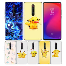 Phone Pattern Black Rubber Soft Silicone Case Bag Cover for Redmi 7A Note 7 6 7S Y3 K20 Pro Core Shell Cases Pokemons PokeBall(China)