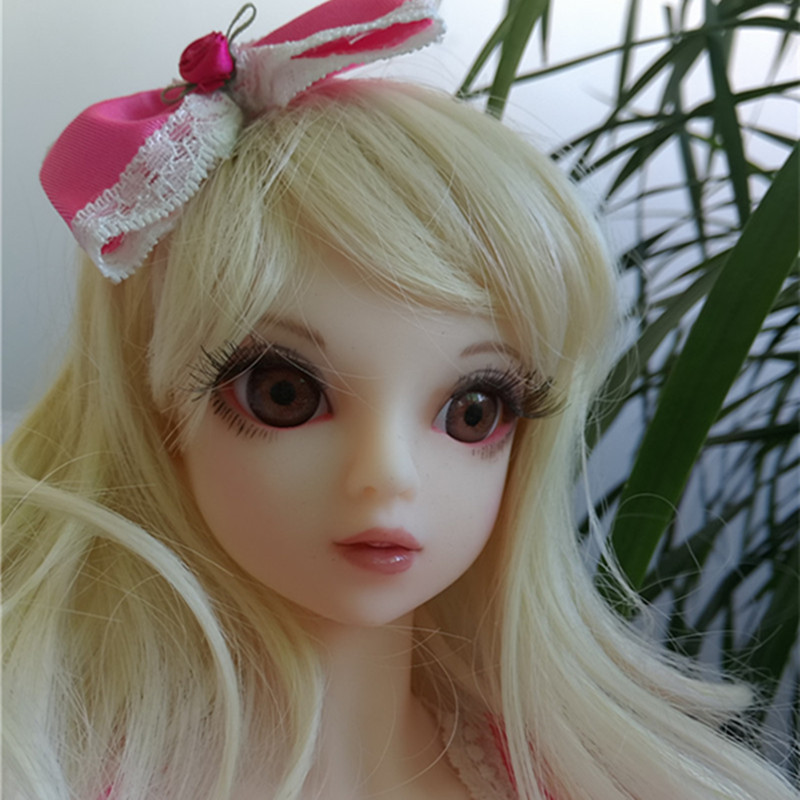 Silicone Sex Dolls 65cm Cartoon Head Mini Sex Girl Lifesize Artificial Real Silicone Vagina Pussy Adult
